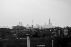 Hazy Chicago Morning